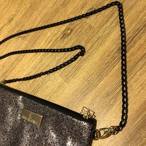 Handbags - Super cute sparkle convertible pouch purse! 💕
